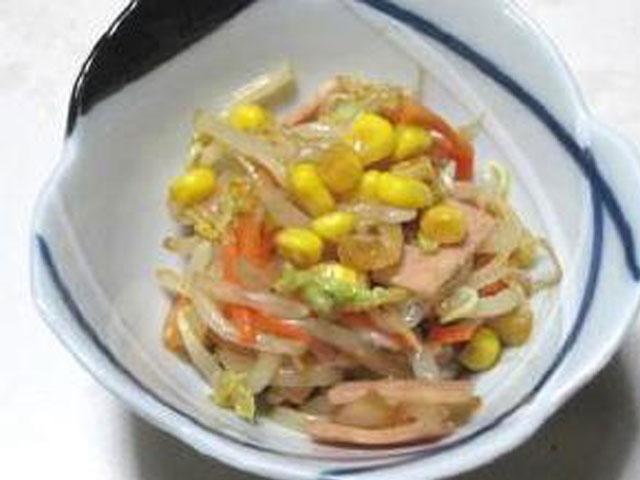 白菜ともやしの中華サラダ